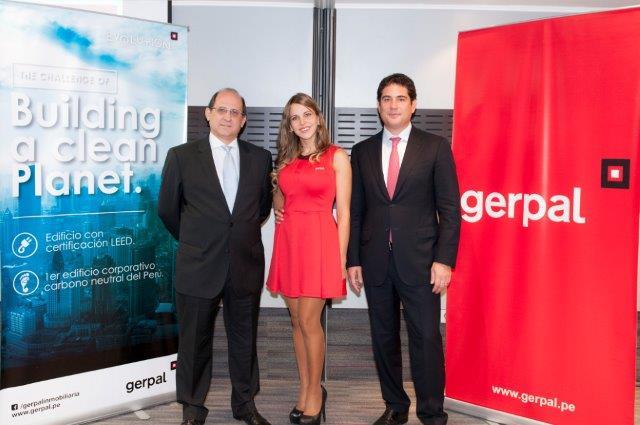 Gustavo Rizo Patrón Tori - Director Ejecutivo de GERPAL, y Sandro Trosso Toranzo - Gerente General de GERPAL