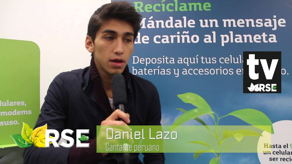 DANIEL LAZO Y TELEFÓNICA CELEBRAN DÍA DEL AMBIENTE
