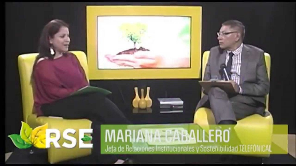 RSE TV: ENTREVISTA A MARIANA CABALLERO DE TELEFÓNICA DEL PERÚ