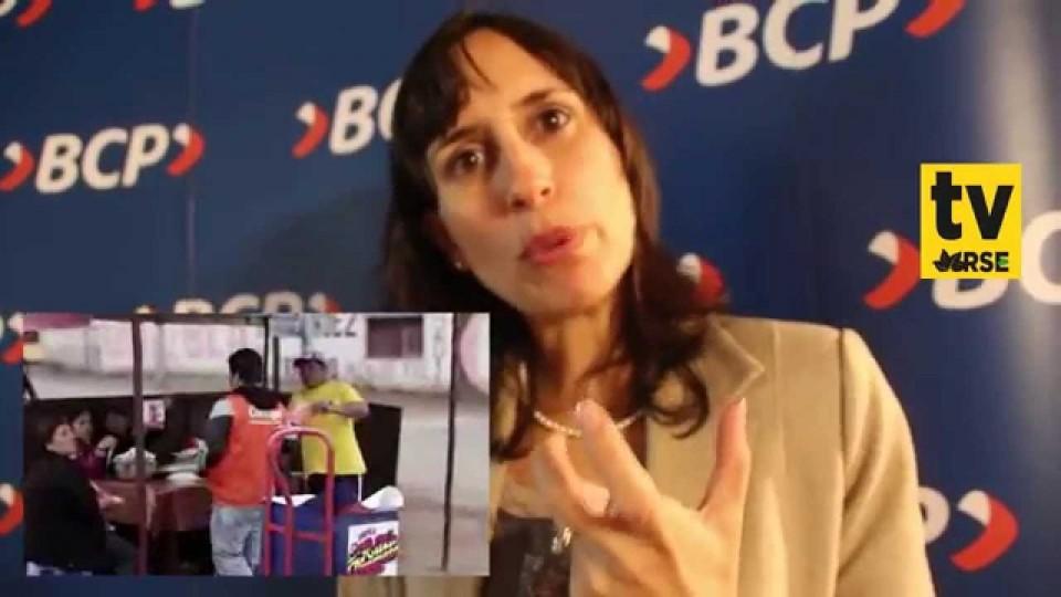 ENTREVISTA A SILVIA NORIEGA, GERENTE DE RS DEL BCP