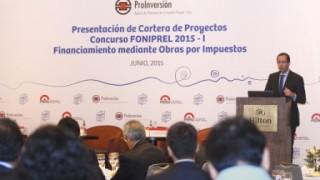 PRESENTAN PROYECTOS A EJECUTARSE MEDIANTE OBRAS POR IMPUESTO CON CARGO A FONIPREL
