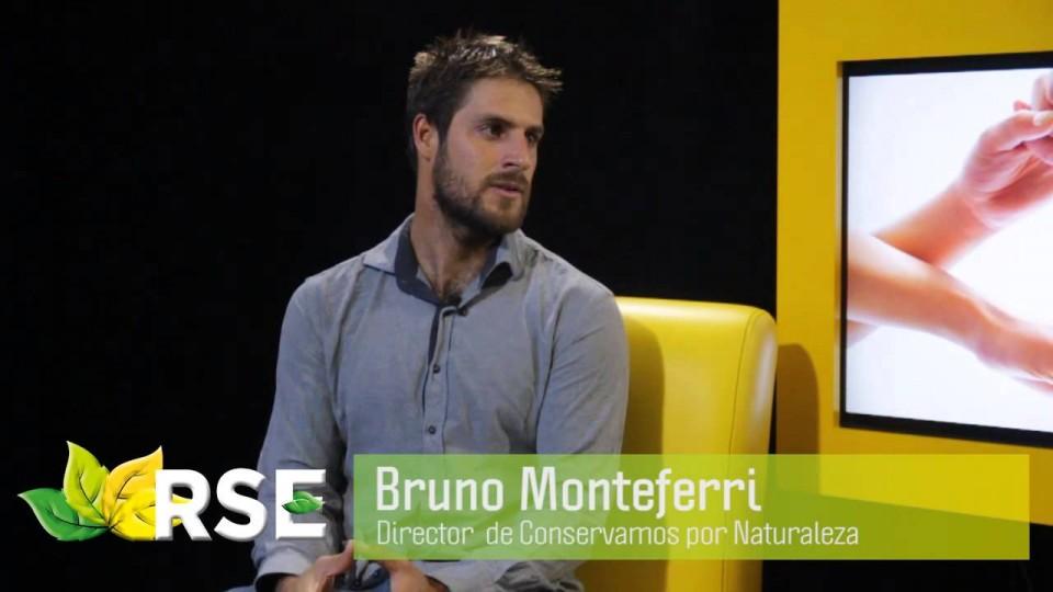 RSE TV: BRUNO MONTEFERRI, DIRECTOR DE CONSERVAMOS POR NATURALEZA