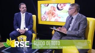 RSE TV: GUIDO DI TOTO, COUNTRY PRESIDENT DE SCHNEIDER ELECTRIC PARA PERÚ Y BOLIVIA