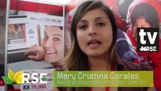 X EXPO RSE 2015 : ENTREVISTA A MERY CORRALES DE CLARO PERÚ
