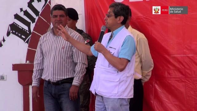 MINISTRO ANÍBAL VELÁSQUEZ DESTACÓ QUE GOBIERNO INVIRTIÓ CINCO VECES MÁS EN SALUD
