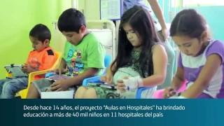 13 AULAS HOSPITALARIAS DE LA FUNDACIÓN TELEFÓNICA