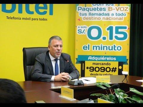 BITEL LANZA LA TARIFA MÁS BAJA DEL MERCADO PERUANO: S/. 0.15 X MINUTO