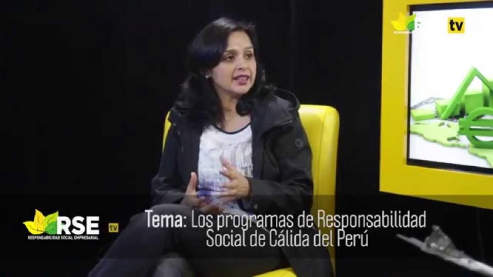 ENTREVISTA A TANIA SILVA GERENTE DE COMUNICACIONES Y RR. INSTITUCIONALES DE CÁLIDDA