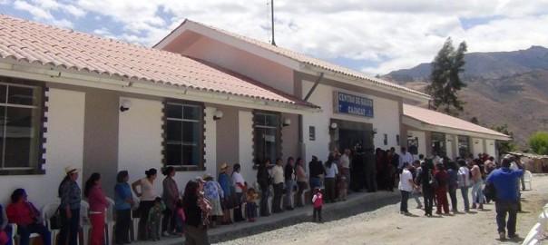 El proyecto de infraestructura de salud beneficiará a la población del Valle Fortaleza y fue financiado por Antamina.
