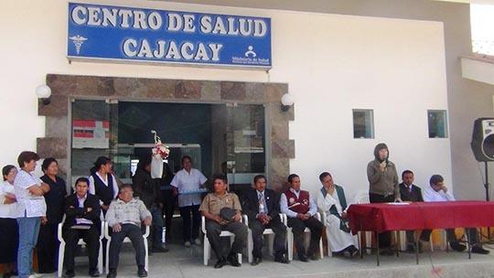 VIDEO: ANTAMINA INAUGURA MODERNO CENTRO DE SALUD DE CAJACAY