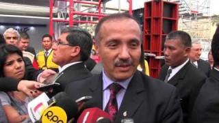 MINISTRO DE VIVIENDA FRANCISCO DUMLER INAUGURÓ FERIA DE CONSTRUCCIÓN EXCON 2015