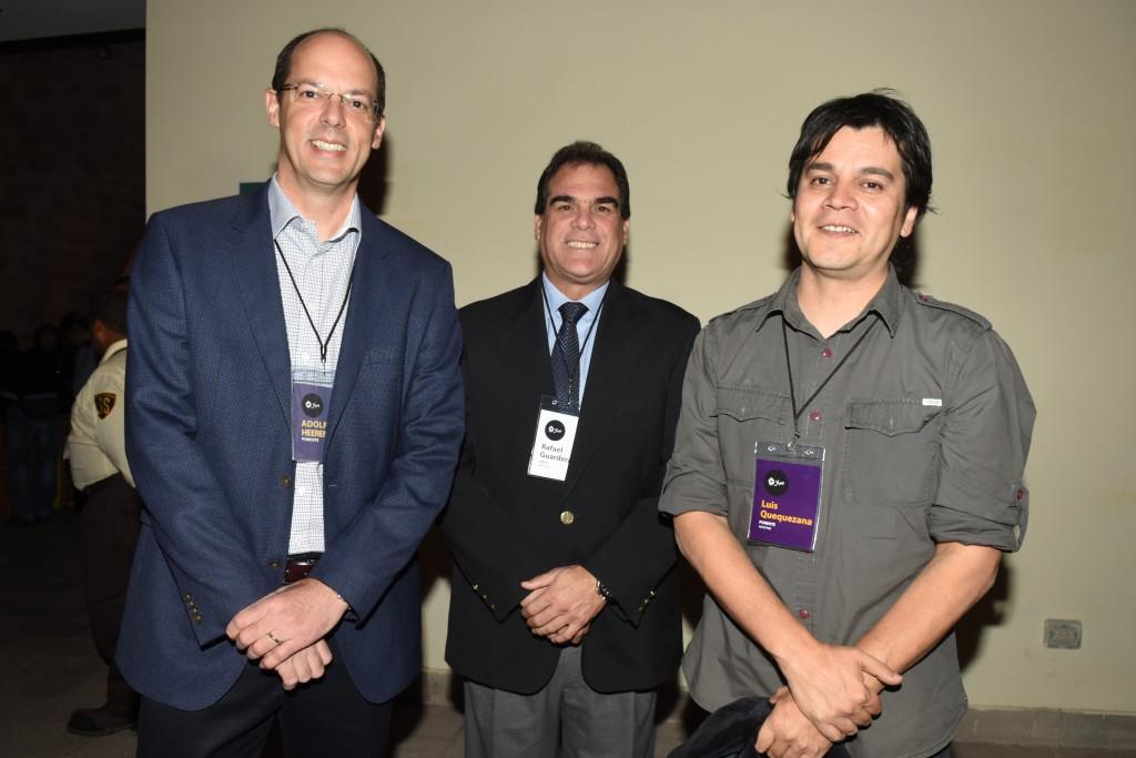 Adolfo Heeren-Rafael Guarderas, gerente de Relaciones Institucionales- Lucho Quequezana