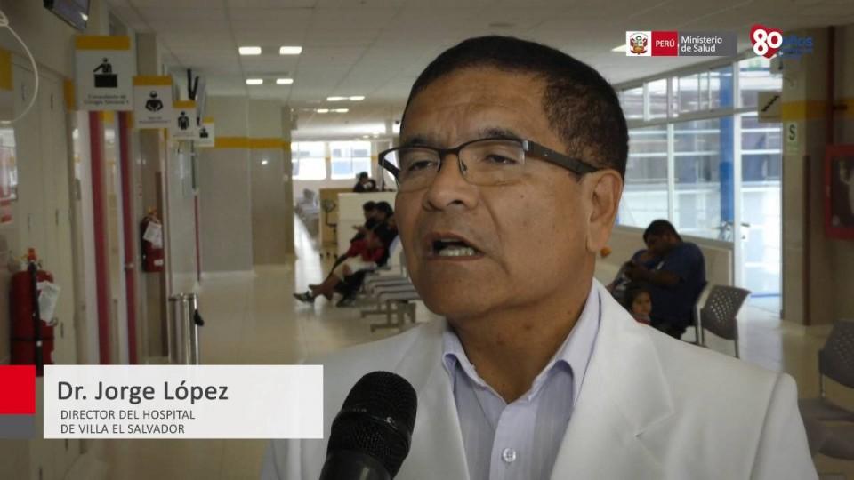 NUEVO HOSPITAL DE MERGENCIAS DE VILLA EL SALVADOR ATENDERÁ 50 MIL CONSULTAS MÉDICAS