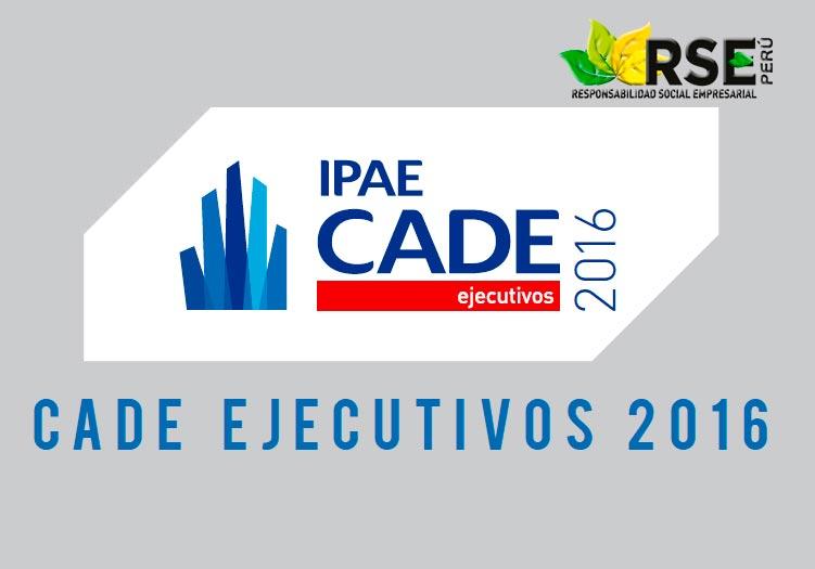VER TRANSMISIÓN DE CADE 2016 EN VIVO DESDE PARACAS