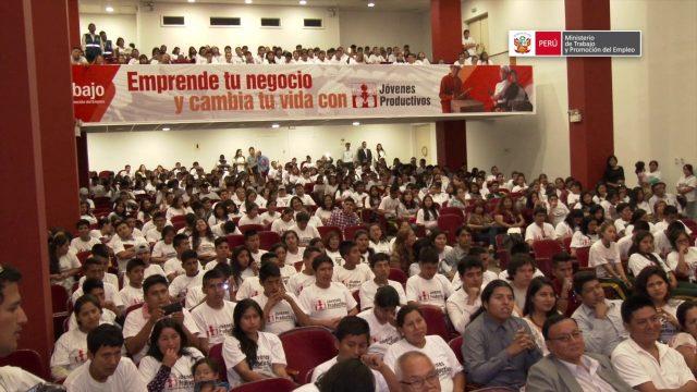 150 JÓVENES DE LIMA Y CALLAO PODRÁN CAPACITARSE PARA EMPRENDER NEGOCIOS PROPIOS
