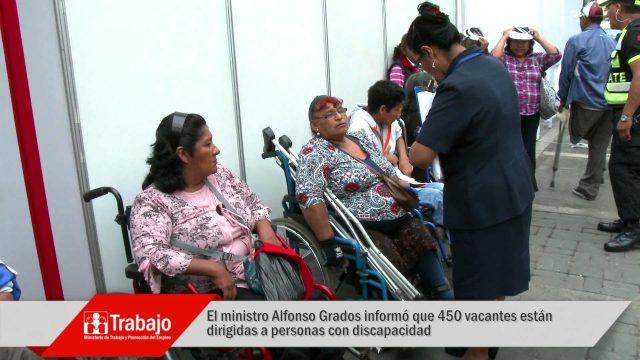 SEMANA DEL EMPLEO: SE OFRECIERON 7,000 EMPLEOS FORMALES