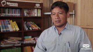 COMUNIDAD NATIVA TUNDUSA RECIBE BIBLIOTECA POR PARTE DE PETROPERÚ