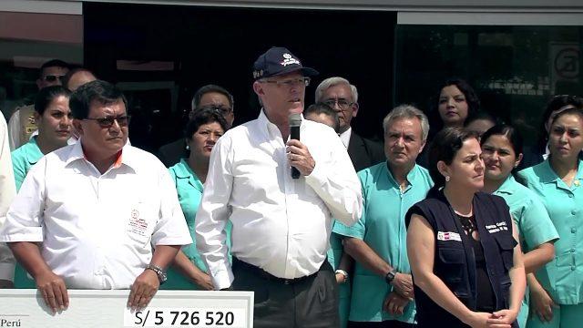 MANDATARIO INSPECCIONÓ HOSPITAL II-2 DE TARAPOTO.