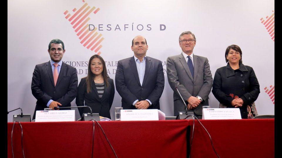"""PCM: LANZAMIENTO DE INICIATIVA DE PARTICIPACIÓN CIUDADANA """"DESAFIOS D"""""""