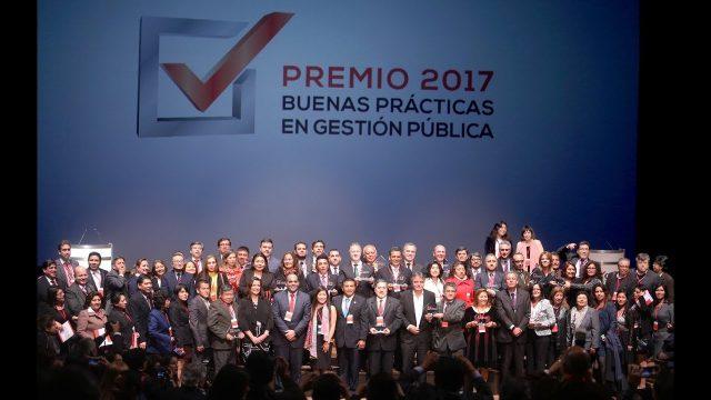 VIDEO DE LOS GANADORES DEL PREMIO DE BUENAS PRÁCTICAS EN GESTIÓN PÚBLICA 2017