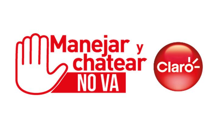 Claro y el Touring lanzan campaña #ManejarYchatearNoVa