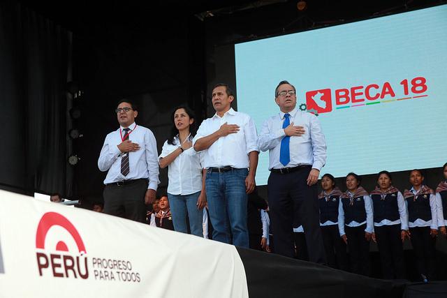 BIENVENIDA A LOS BENEFICIARIOS DE BECA 18 EN CONVOCATORIA 2015