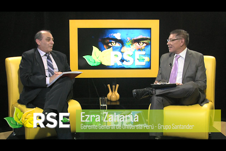 RSE TV: EZRA ZAHARIA GERENTE GENERAL DE UNIVERSIA PERÚ