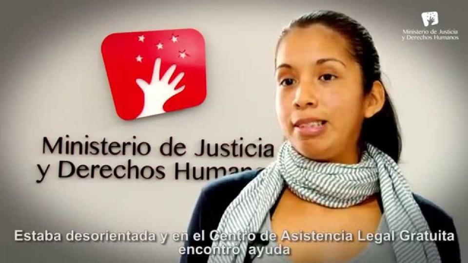 ALEGRA: LOS CENTROS DE ASISTENCIA LEGAL GRATUITA DEL MINISTERIO DE JUSTICIA