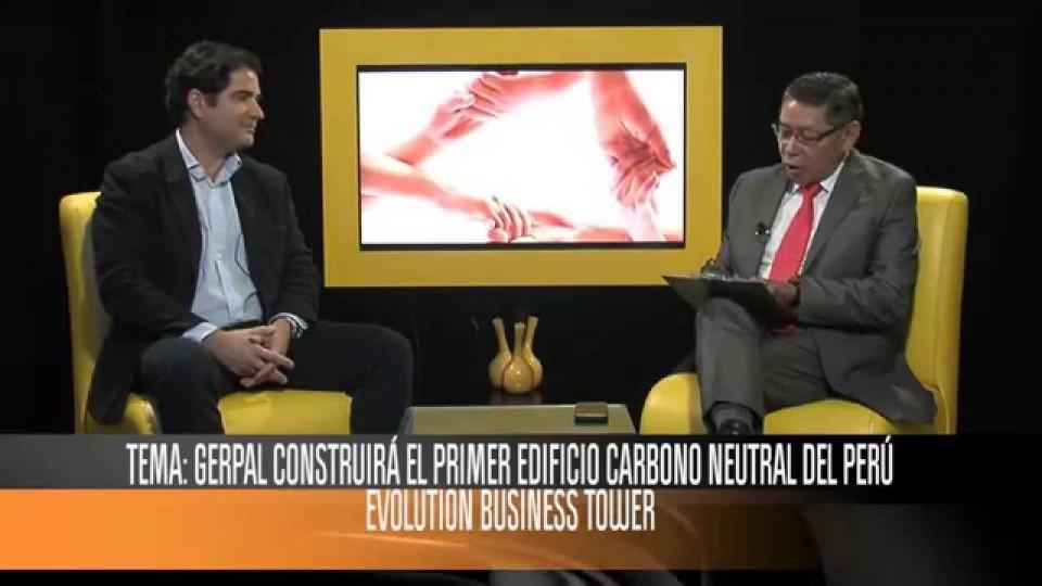 EDIFICIOS ECOLÓGICOS: SANDRO TROSSO TORANZO, GERENTE GENERAL DE GERPAL