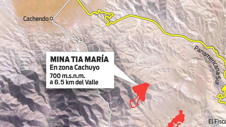 SEGÚN SOUTHERN PERÚ NO OPERARÁ DENTRO DEL VALLE DE TAMBO