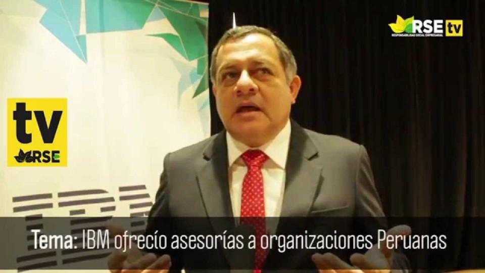 ORGANIZACIONES RECIBIERON ASESORÍA INTERNACIONAL BRINDADA POR IBM