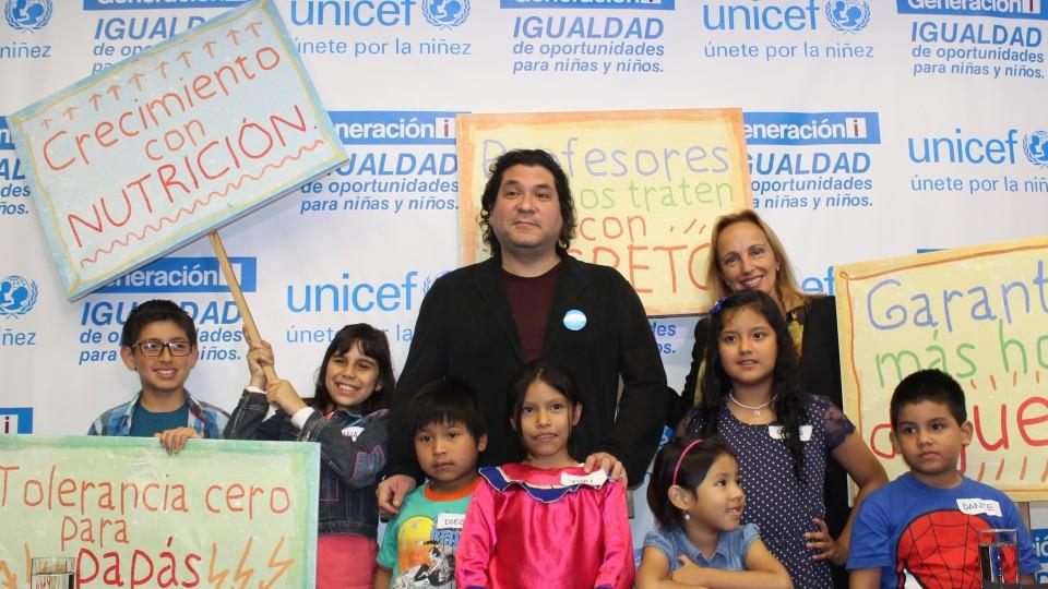 NIÑOS DE GENERACIÓN i DE UNICEF ESTARÁN PRESENTES EN CAMPAÑA ELECTORAL