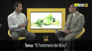 FENÓMENO DEL NIÑO: ENTREVISTA A CHRISTIAN BARRETO SCHULER, METEORÓLOGO DEL SENAMHI