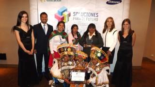 COLEGIO DE AREQUIPA FUE EL GANADOR DEL CONCURSO «SOLUCIONES PARA EL FUTURO» DE SAMSUNG
