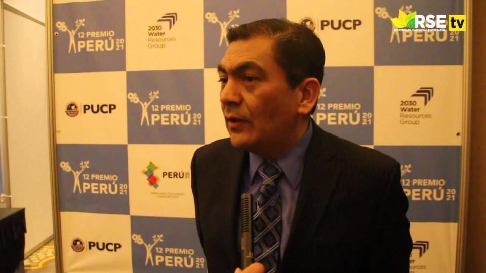 12° PREMIO PERU 2021: CATEGORÍA «AGUA» FUE AUSPICIADA POR 2030 WATER RESOURCES GROUP