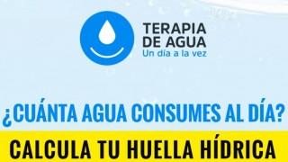 «TERAPIA DE AGUA», LA NUEVA WEB QUE NOS AYUDARÁ A CUIDAR EL AGUA