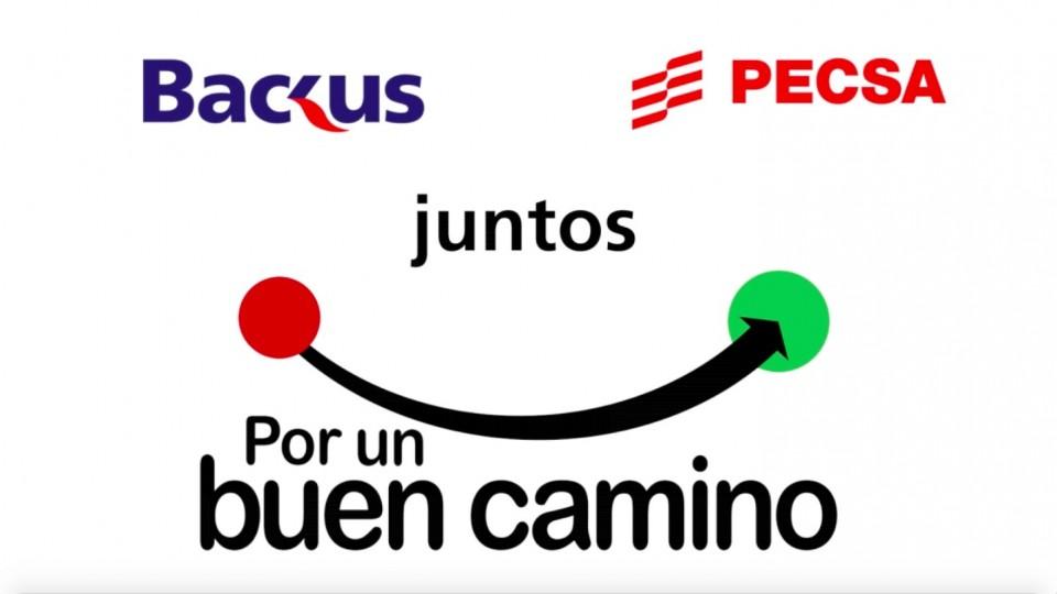 PECSA Y BACKUS SE UNEN POR LA SEGURIDAD VIAL Y LA CONDUCCIÓN RESPONSABLE