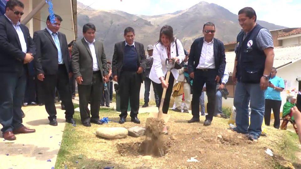 PRIMERA PIEDRA: ANTAMINA CONSTRUIRÁ HOSPITAL EN HUARI POR 77 MILLONES