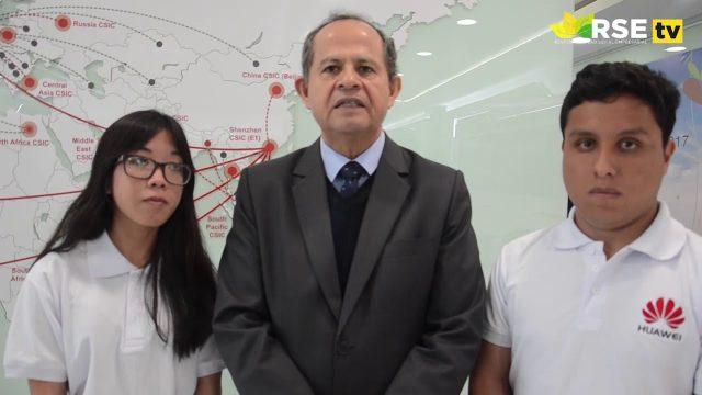 ESTUDIANTES PERUANOS VISITARÁN LAS INSTALACIONES DE HUAWEI EN CHINA
